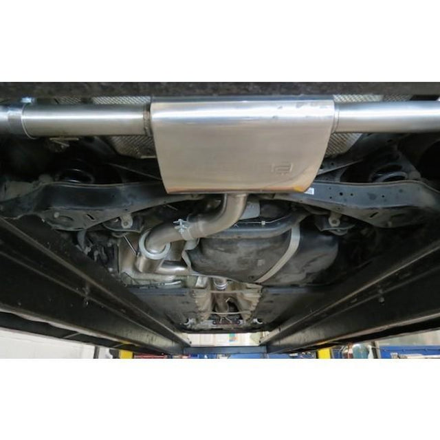 VW Scirocco R Resonated Cat Back Performance Exhaust