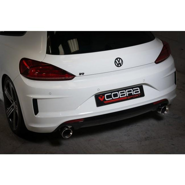 VW Scirocco R Venom Cat Back Performance Exhaust