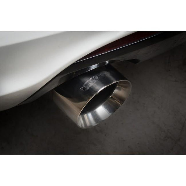 VW Scirocco R Venom Turbo Back Exhaust with Sports Cat