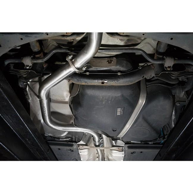 VW Golf GTD MK6 Single Exit Exhaust Fitted 1