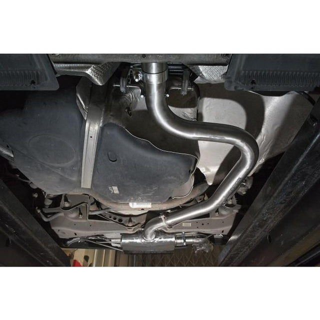 VW Golf GTD MK6 Single Exit Exhaust Fitted 2