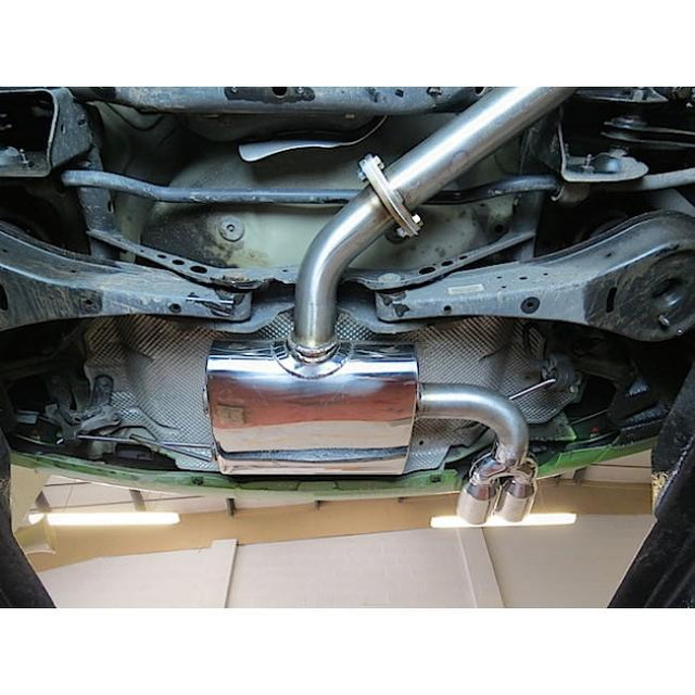 VW Golf Sports Exhaust Fitted