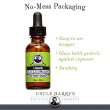 Load image into Gallery viewer, Uncle Harry's Natural & Fluoride-free Remineralization Liquid For Tooth Enamel - Freshens Breath & Strengthens Teeth (1 oz.)