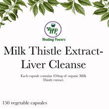 Load image into Gallery viewer, Milk Thistle Liver Cleanse Capsules