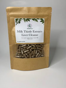 Milk Thistle Liver Cleanse Capsules