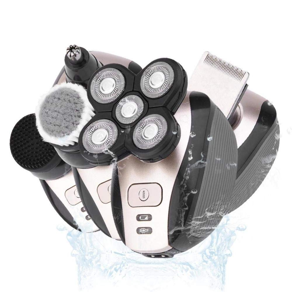 5 in 1 Shaver Men - Rechargeable Head Shaver