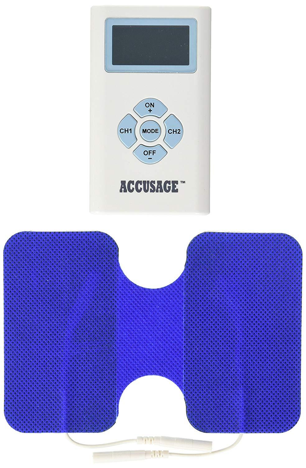 Accusage Plus Ems Remote Controlled Pain Relief Massager