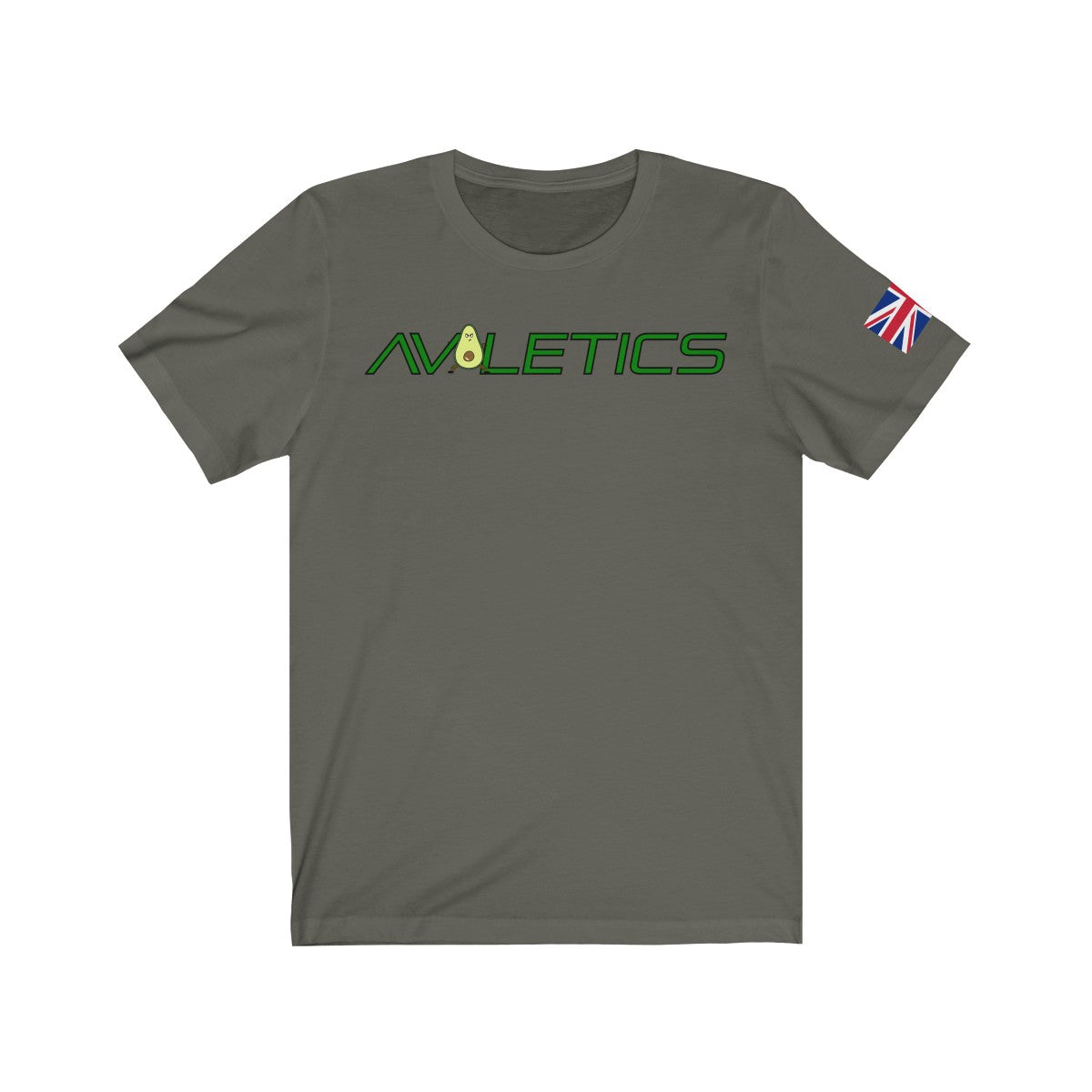 Avoletics Union Jack Unisex Jersey Short Sleeve Tee