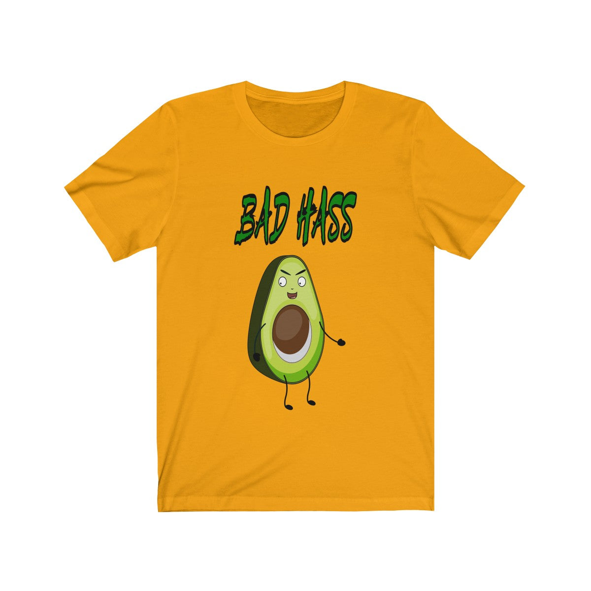 Bad Hass Unisex Jersey Short Sleeve Tee