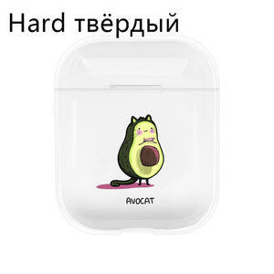 Avocado Hard/Soft Airpods Case