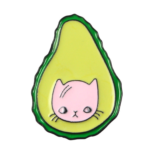 Avocado Enamel Pins