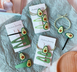 1 pc Avocado Hairpin / Hair Clip