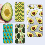 Avocado Print Silicon Phone Cases