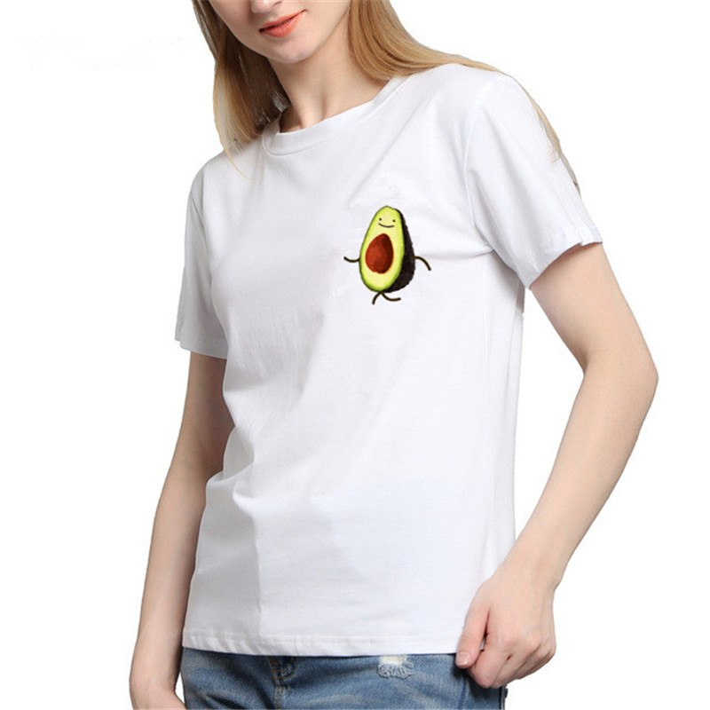 Women's Avocado Print Short-Sleeve T-Shirt