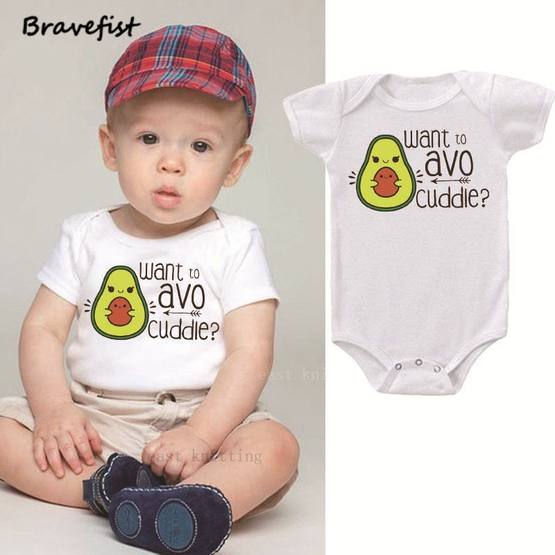 ''AvoCuddle'' Baby Onesie