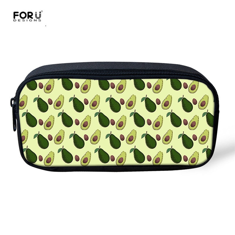 Women's Avo Print Makeup Case