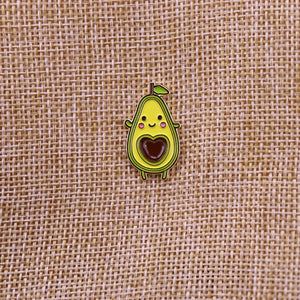 Cute Avocado Enamel Pin
