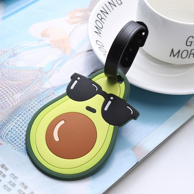 Avocado Luggage Tag
