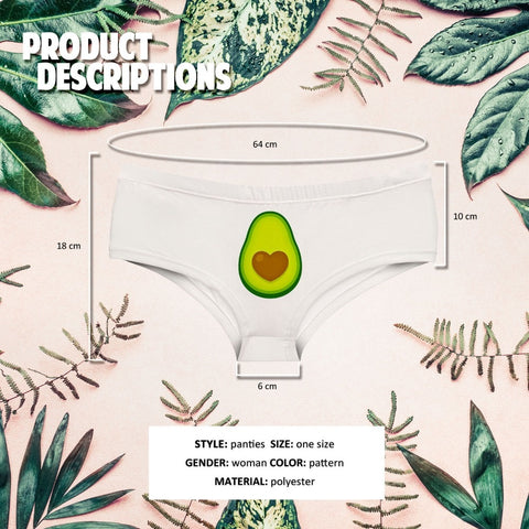 Women's Avocado Print Panty