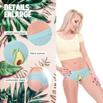 Women's Avocado Print Low-Waist Panty