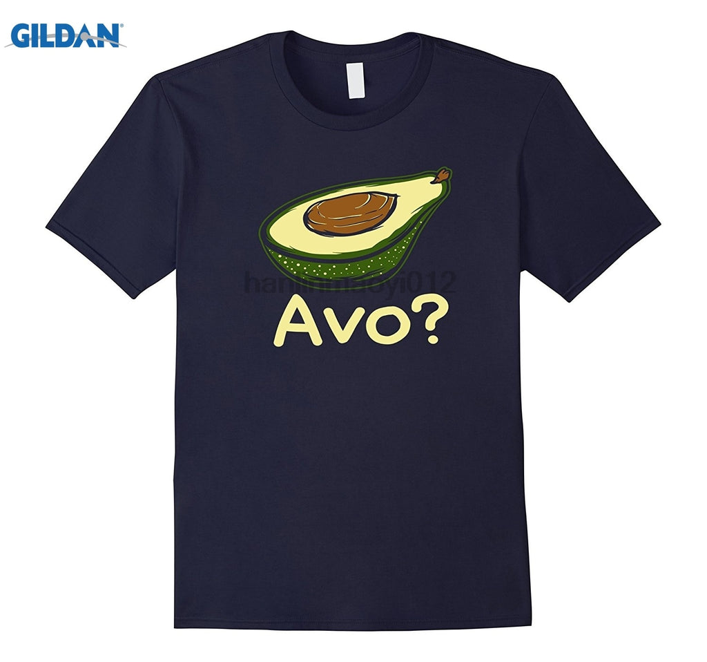 Men's Avocado Print Short-Sleeve T-Shirt
