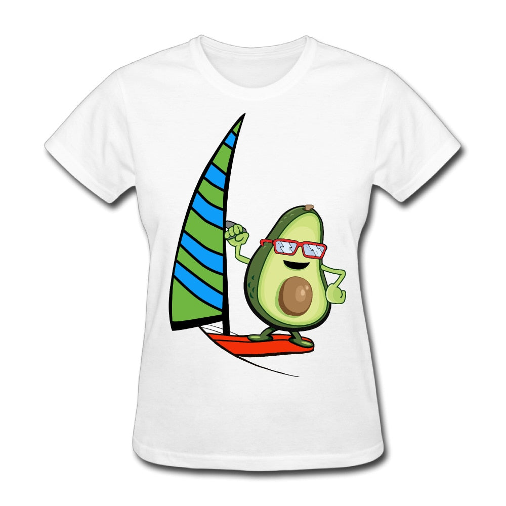 Women's Avo Sail Print Short-Sleeve Tee
