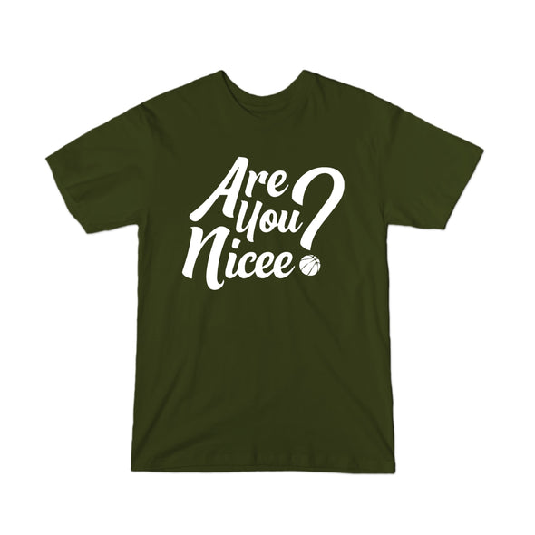 Are You Nicee? Youth T-Shirt (White Text)