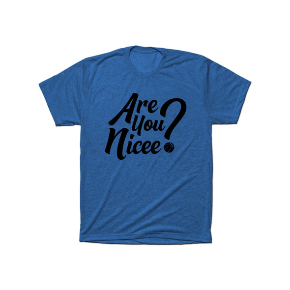 Are You Nicee? T-Shirt (Black Text)