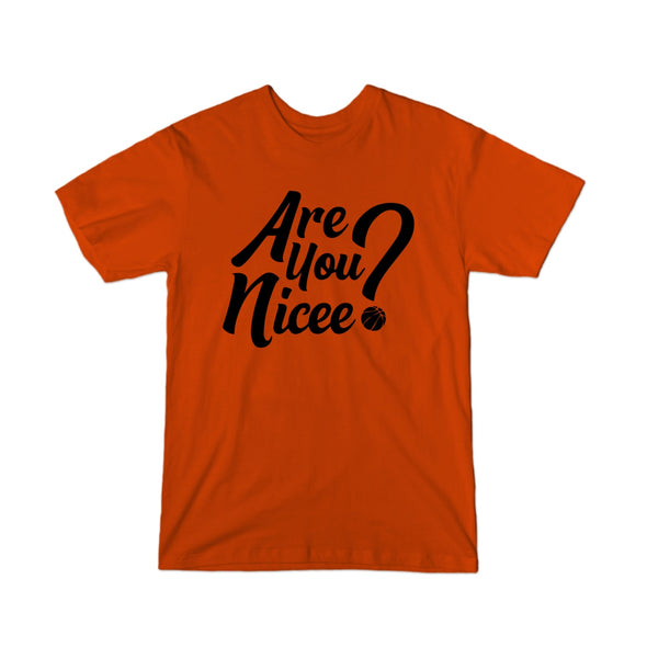 Are You Nicee? Youth T-Shirt (Black Text)