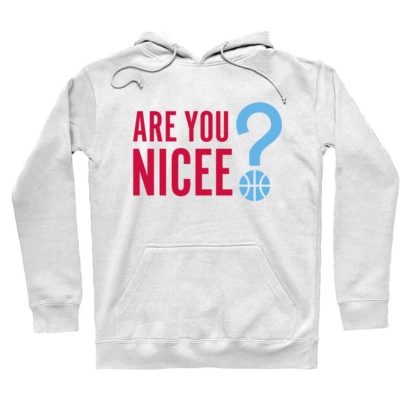 POS Are You Nicee? Chicago Hoodie White - whistlesports