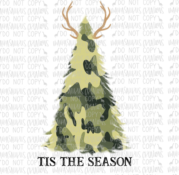 'Tis Hunting Season Digital Design