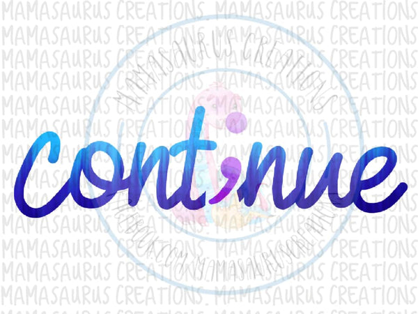 Continue Semicolon Digital Design