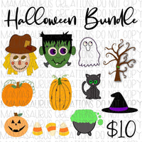 Halloween Bundle Digital Design