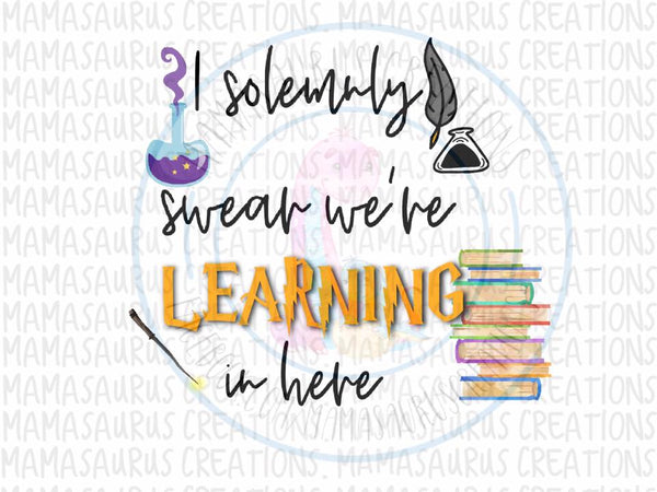 Solemnly Swear Learning Digital Design