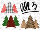 Patterned Tree Bundle Digital Design
