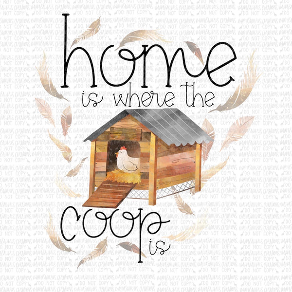 Home is Where the Coop is Digital Design