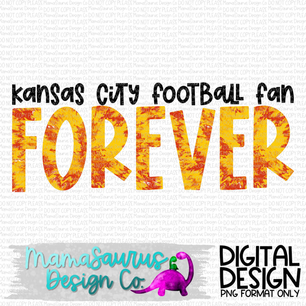 KC Football Forever Digital Design