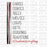 Christmas Things Digital Design