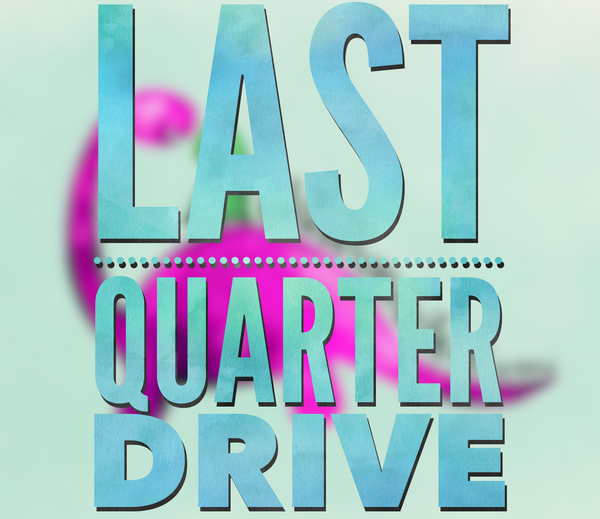 Quarterly 2020 (October, November & December) Digital Drive