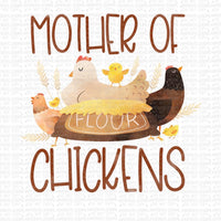 Mother of Chickens Digital Design