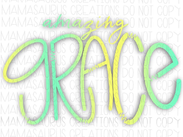 Amazing Grace Digital Design