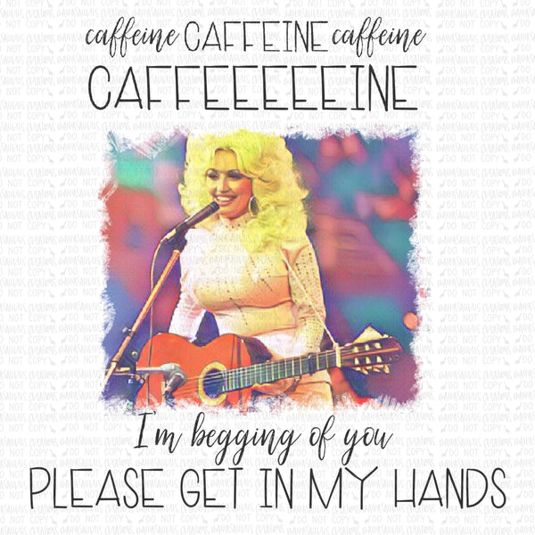 Caffeine Dolly Digital Design