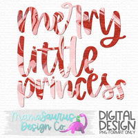 Merry Little Princess Digital Design