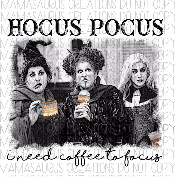 Hocus Pocus Coffee Digital Design