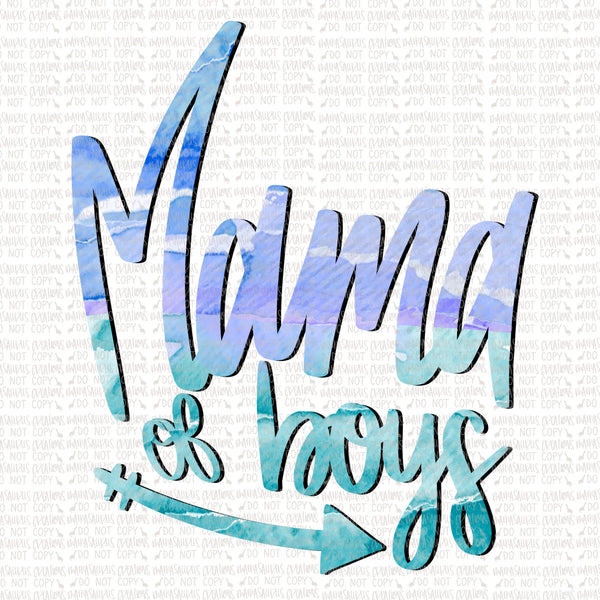 Mama of Boys Digital Design