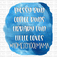 Homeschool Mama Digital Design