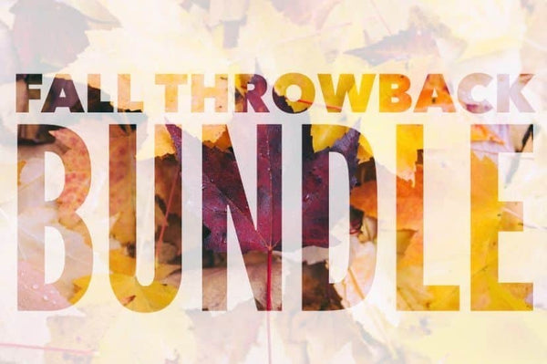 Fall Throwback Digital Design Bundle (25 items)