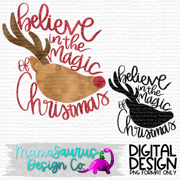 Believe Rudolph Digital Design