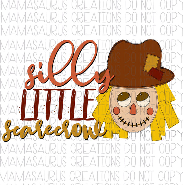 Silly Scarecrow Digital Design