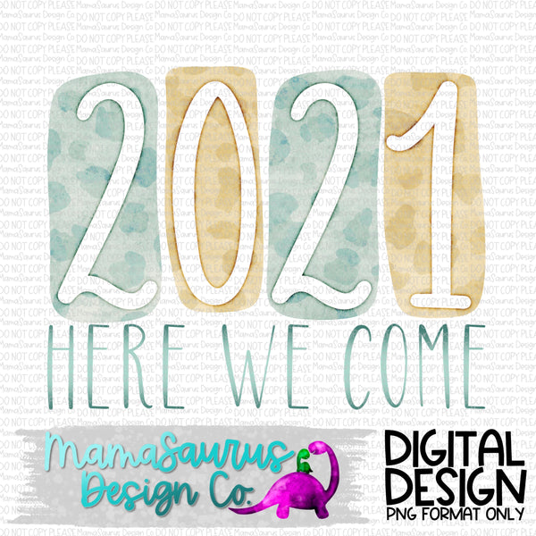 2020 Here We Come Digital Design